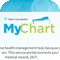 Sample email from the MyChart new user drip campaign